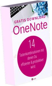 Gratis Download 14 Tastenkombinationen OneNote