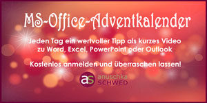 MS-Office-Adventkalender