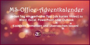 MS-Office-Adventkalender