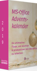MS-Office-Adventskalender 2019