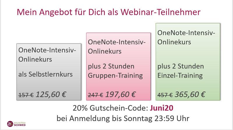 Angebot-OneNote-Onlinekurs