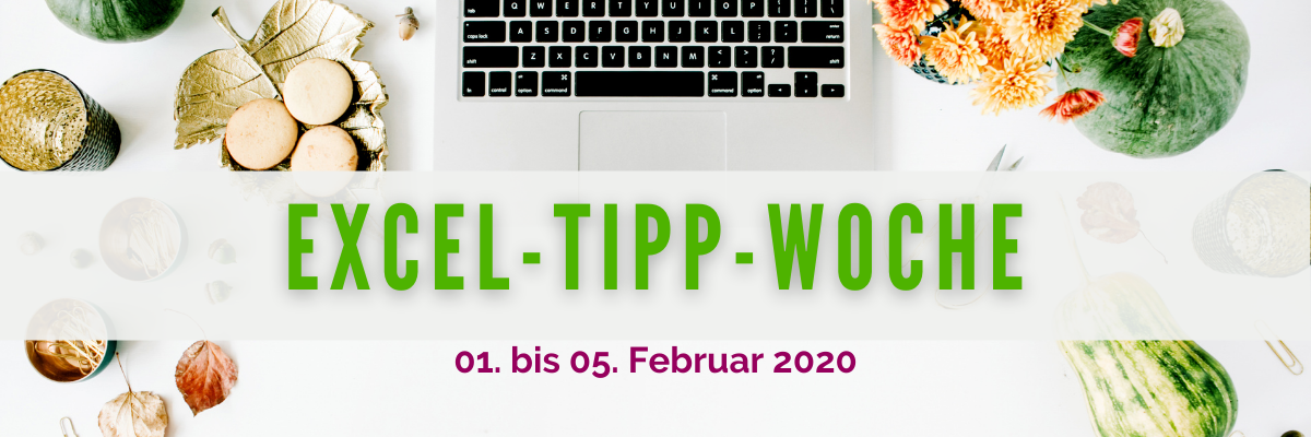 EXCEL-Tipp-Woche Februar 2021