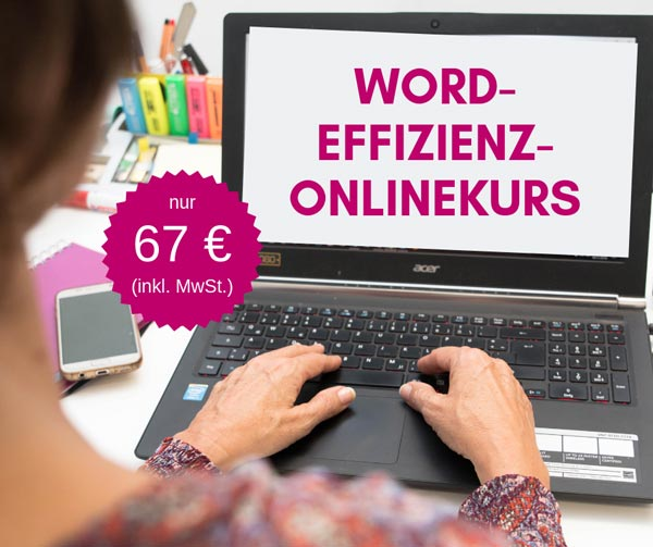WORD-Effizienz-onlinekurs
