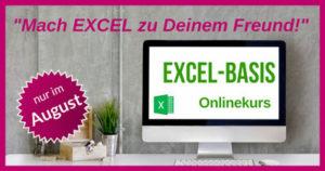 Excel-Basis-Onlinekurs