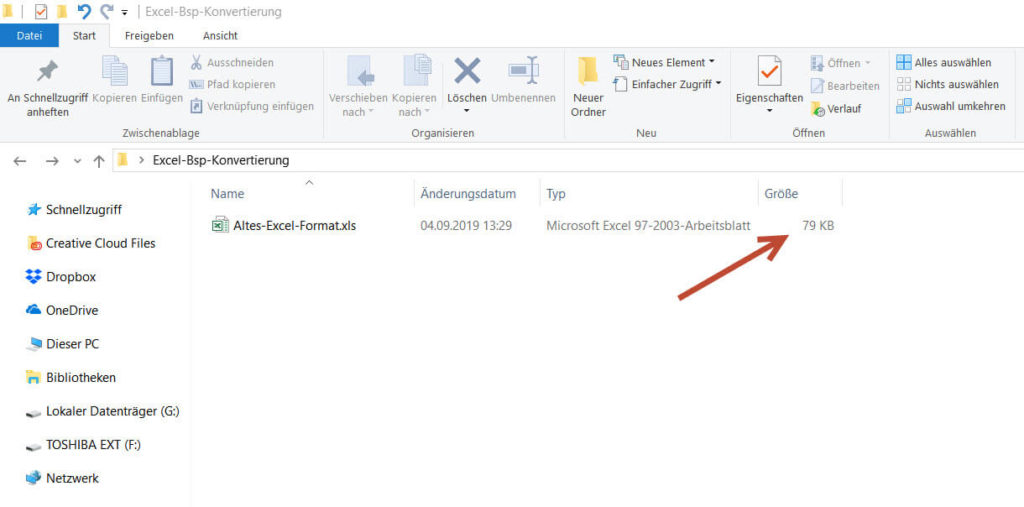 Excel-Datei-konvertieren-Dateigroesse