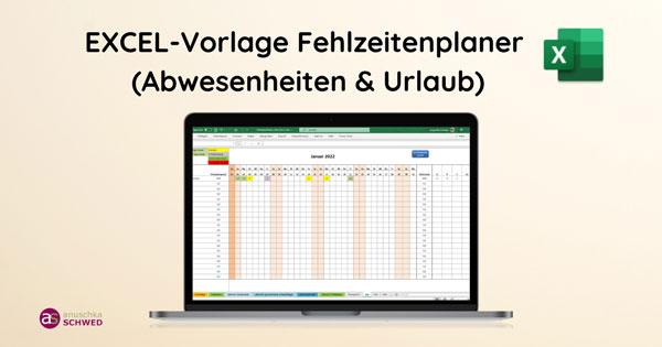 Excel-Vorlage-Fehlzeiten