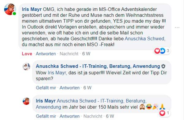 Testimonial Iris Mayr