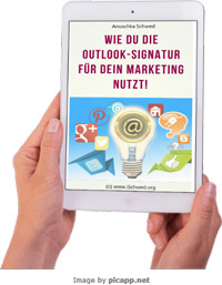 Ebook-Download Outlook Signatur im Marketing