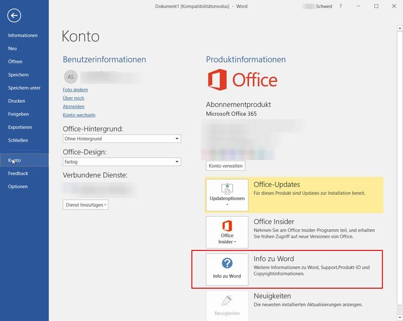 Office-2013-und-2016-Version-herausfinden-1