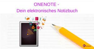 Online-Webinar OneNote - Dein elektronisches Notizbuch