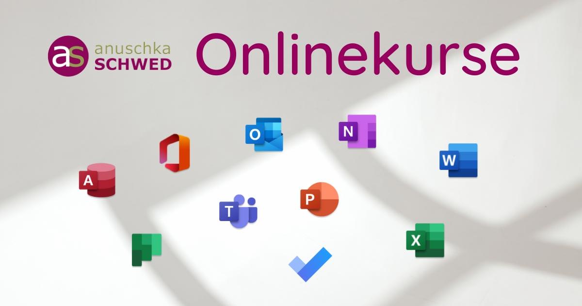 Onlinekurse Microsoft Office