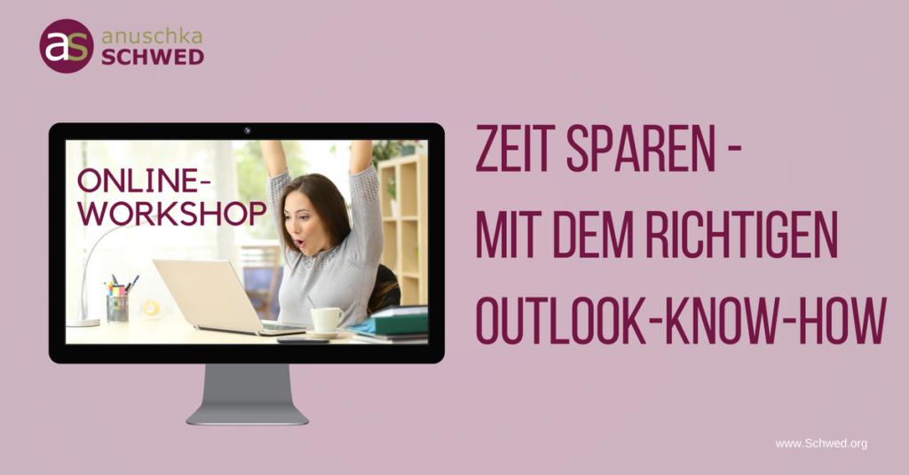 Zeit sparen mit dem richtigen Outlook-Know-How Outlook-Workshop