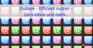 Online-Webinar Outlook - Den Zeitdieben auf der Spur