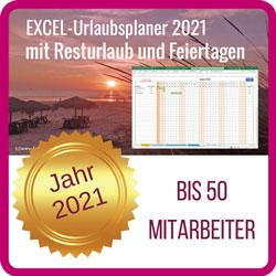 Excel-Urlaubsplaner-2021-50 Mitarbeiter
