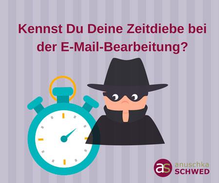 Kennst Du Deine Zeitdiebe bei E-Mails?
