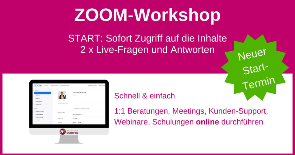 ZOOM-Workshop